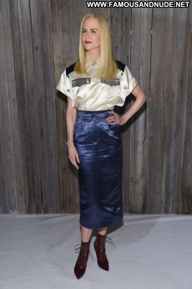 Nicole Kidma Fashion Show New York Celebrity Fashion Beautiful Babe