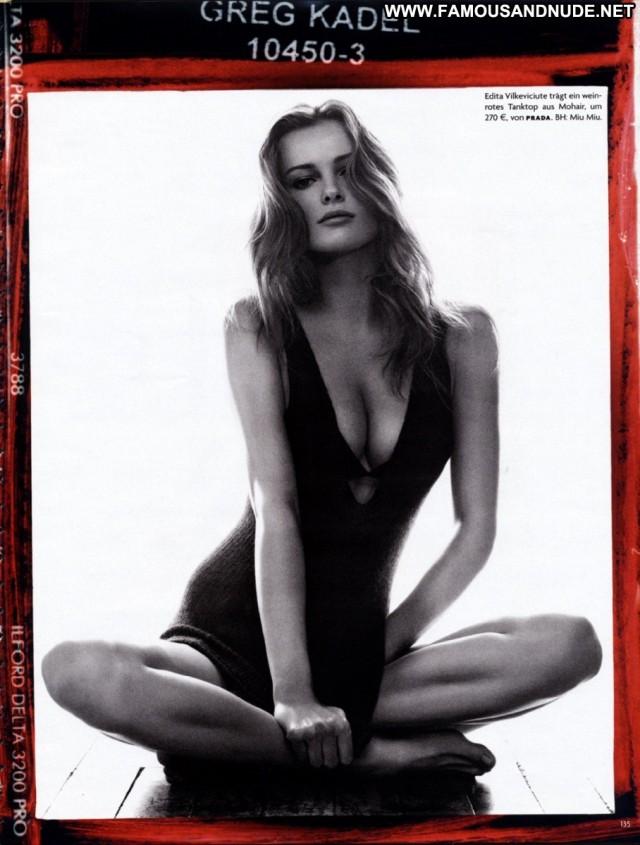 Edita Vilkeviciute Vogue Germanyn Aug 2009 Posing Hot