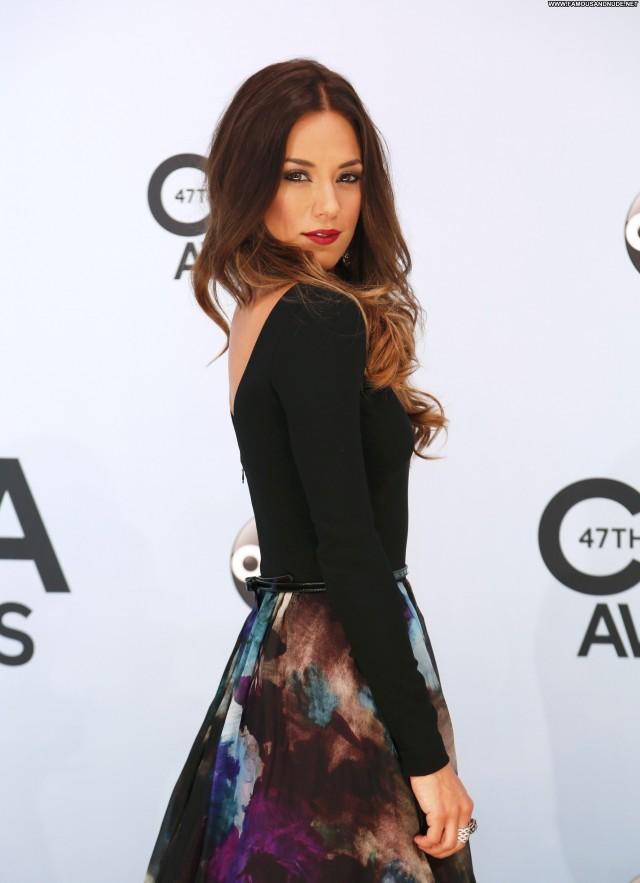 Jana Kramer Cma Awards  Babe Beautiful High Resolution Posing Hot