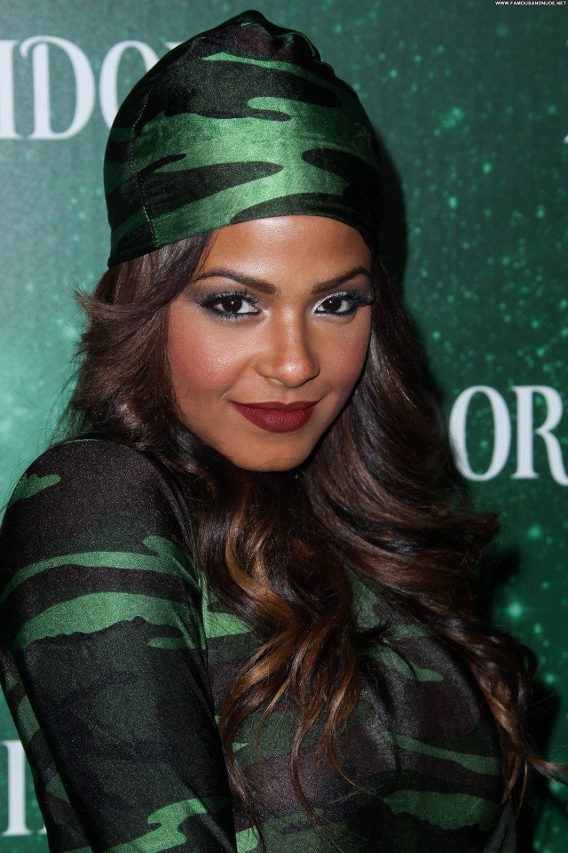 Christina Milian Halloween Party Celebrity Babe High Resolution