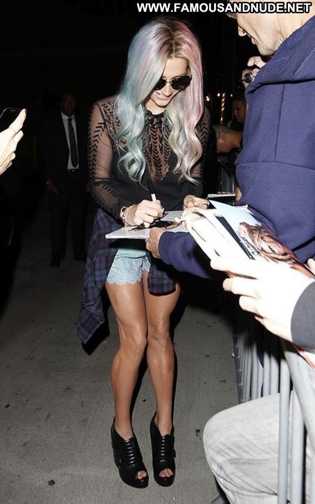 Kesha Jimmy Kimmel Live Posing Hot Beautiful Celebrity Babe High