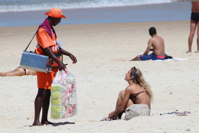 Alice Dellal The Beach Brazilian Celebrity Beautiful Model Babe High