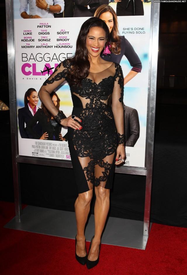 Paula Patton Baggage Claim Hollywood High Resolution Posing Hot Babe