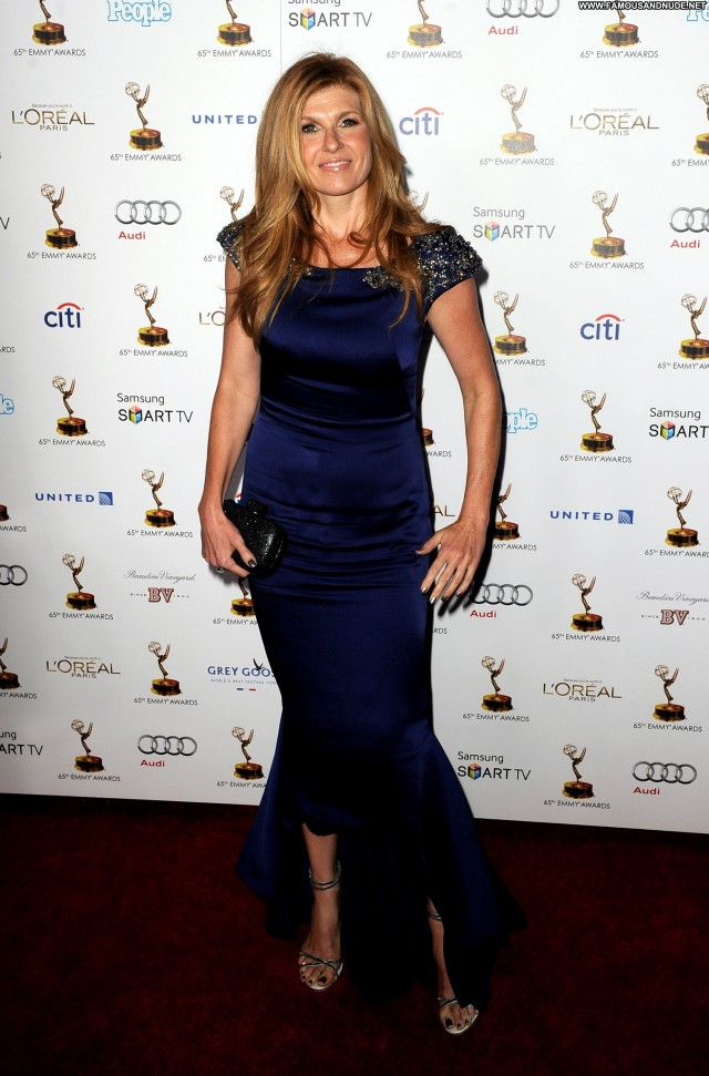 Connie Britton Primetime Emmy Awards High Resolution Awards Posing