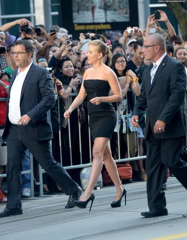 Scarlett Johansson Toronto International Film Festival Beautiful