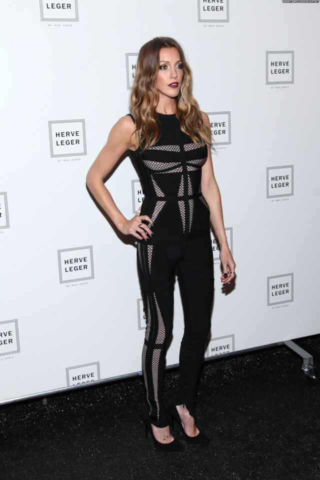Katie Cassidy Fashion Show Beautiful Celebrity High Resolution