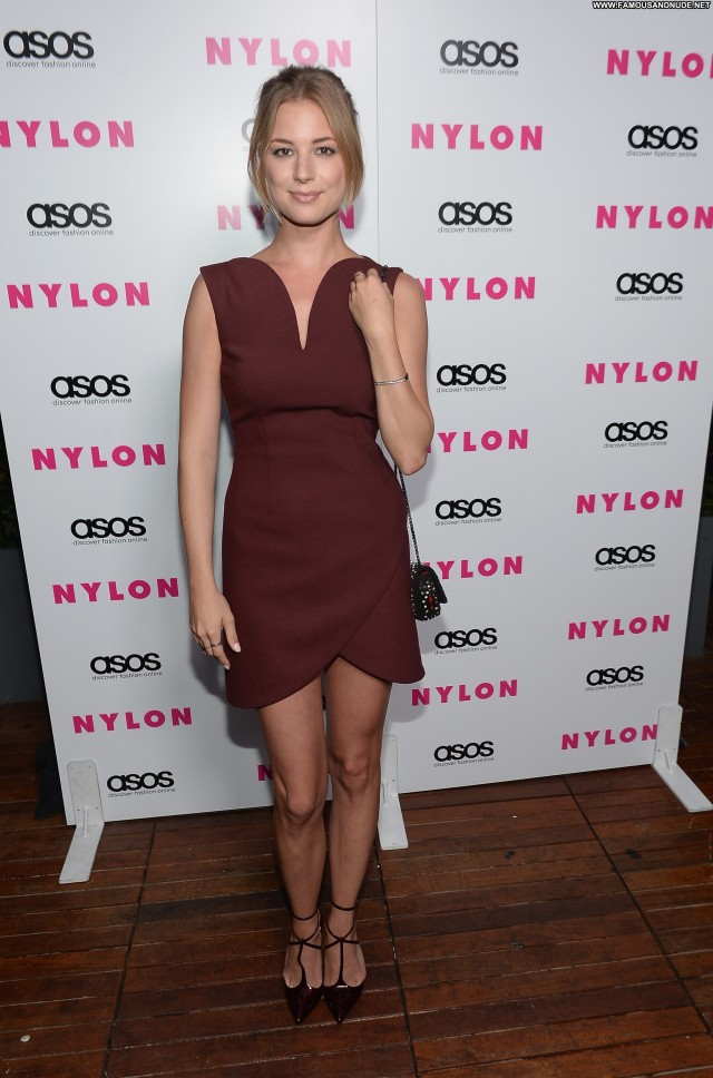 Emily Vancamp Party Beautiful Nylon Celebrity High Resolution