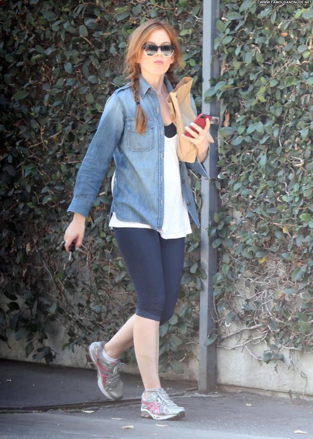 Isla Fisher Studio City Posing Hot High Resolution Candids Celebrity