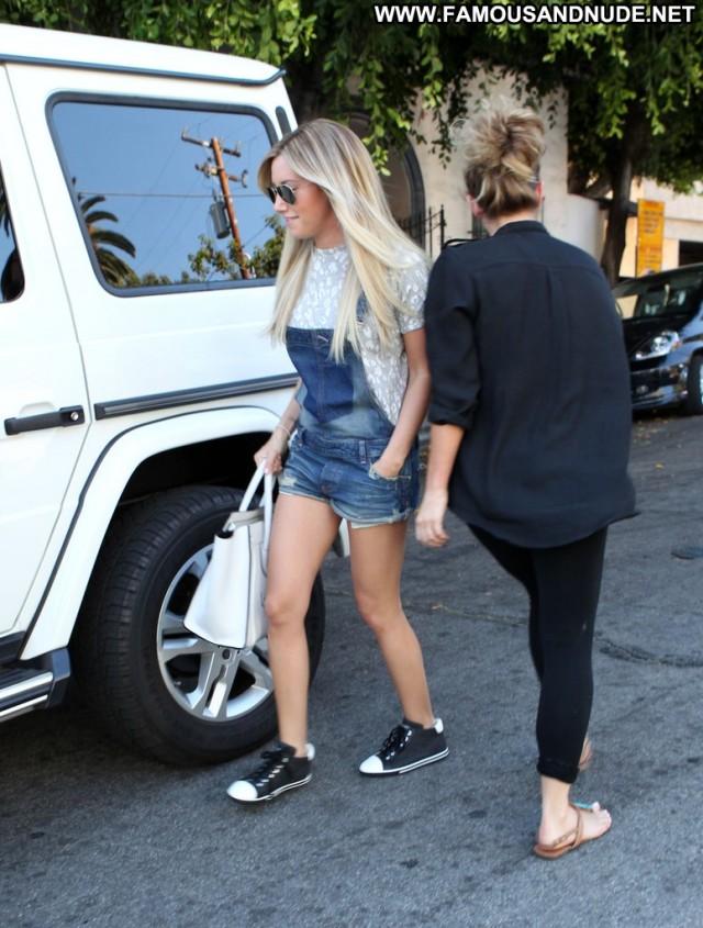 Ashley Tisdale West Hollywood Posing Hot Celebrity Babe Beautiful