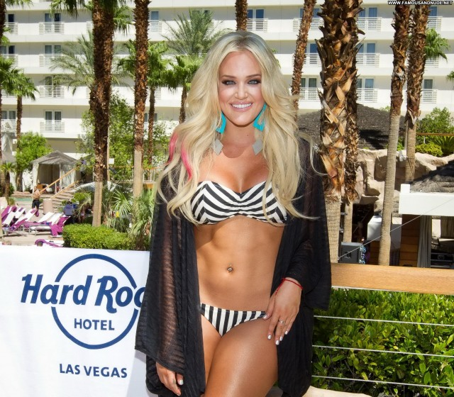 Lacey Schwimmer Pool Party  Beautiful Celebrity Posing Hot Pool High