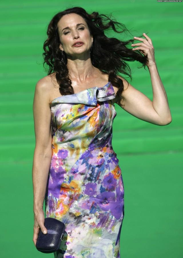 Andie Macdowell No Source  Beautiful High Resolution Celebrity Posing