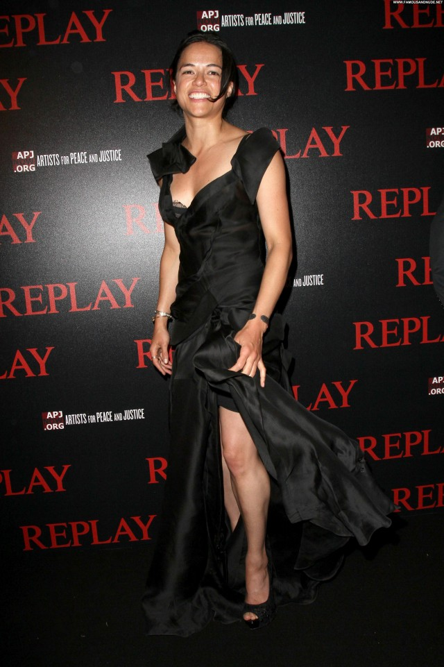 Michelle Rodriguez Michelle Celebrity Party Posing Hot Babe Beautiful