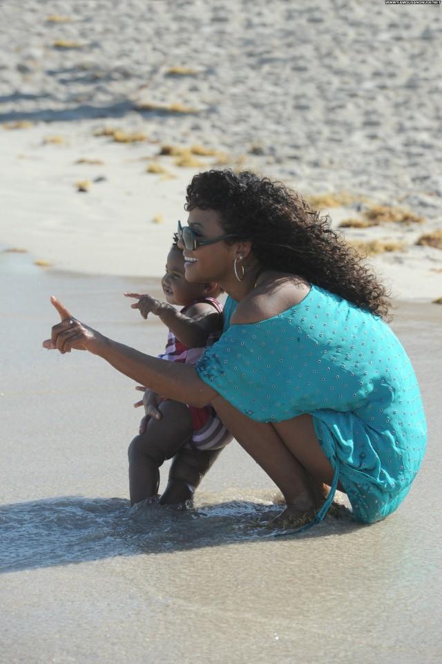 Christina Miami Beach Celebrity Posing Hot Beach Beautiful Babe High