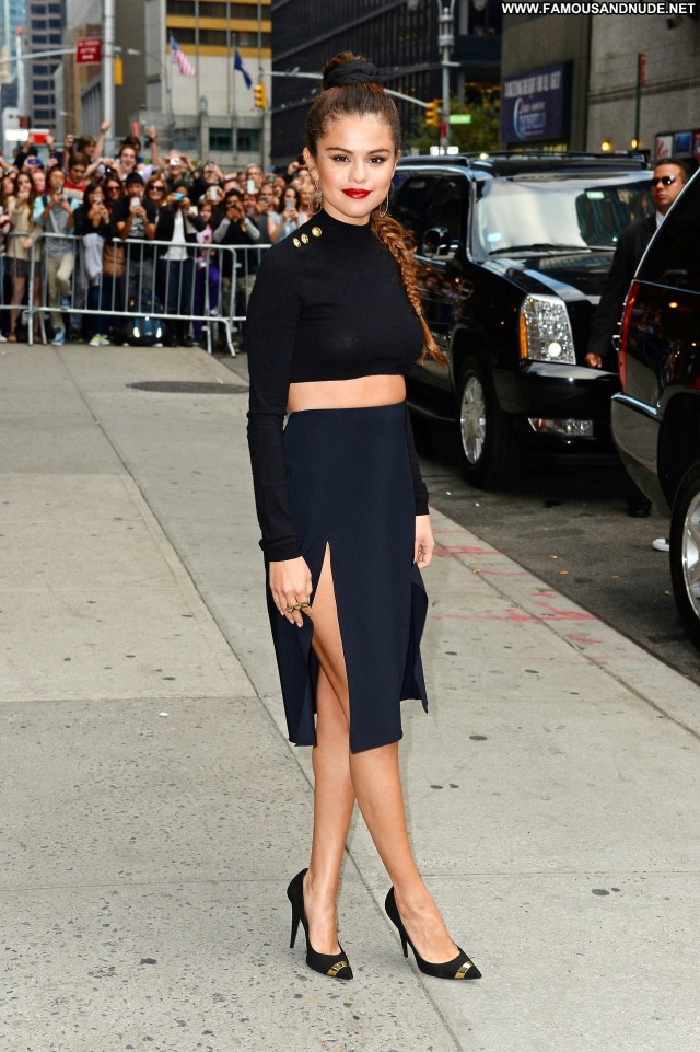 Selena Gomez Late Show With David Letterman Candids Celebrity Babe