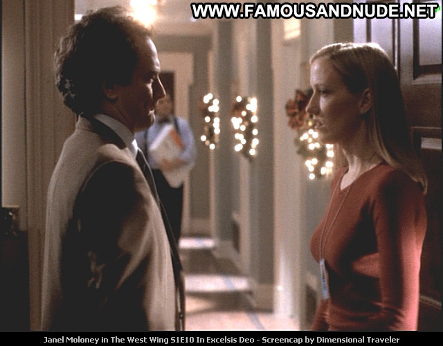 Janel Moloney The West Wing The West Wing Celebrity Beautiful Babe Posing Hot Tv Series-2846