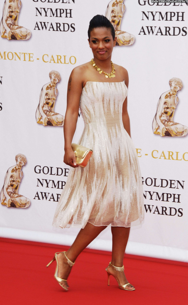 Freema Agyeman Monte Carlo Nymph Beautiful Awards Celebrity Babe