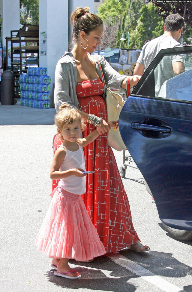 Jessica Alba West Hollywood Celebrity Beautiful Daughter High