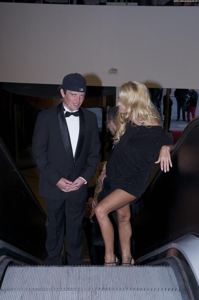 Pamela Anderson Copenhagen Party Celebrity Beautiful Posing Hot Babe