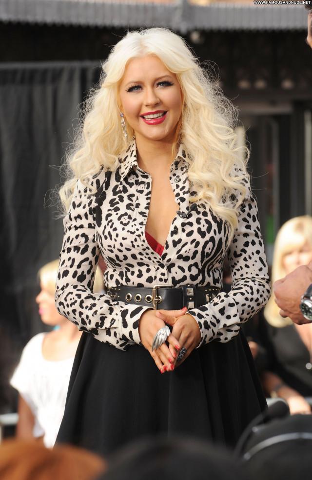 Christina Aguilera The Grove Celebrity High Resolution Babe Beautiful