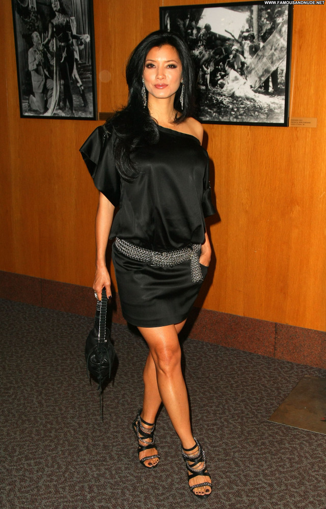 Kelly Hu Los Angeles Celebrity Posing Hot Beautiful Babe Los Angeles