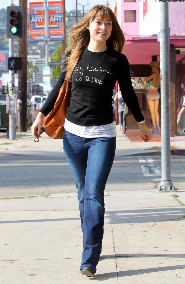 Olivia Wilde Los Angeles High Resolution Beautiful Celebrity Los