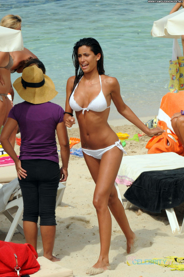 Federica Nargi The Beach European Italian Famous Celebrity Beach
