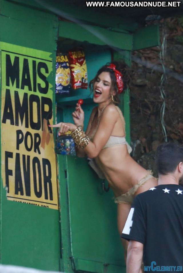 Alessandra Ambrosio No Source Bikini Celebrity Babe Swimsuit