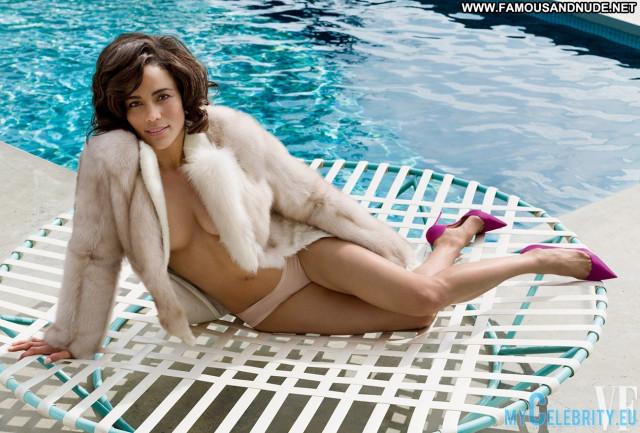 Paula Patton Vanity Fair  Celebrity Beautiful Magazine Sexy Posing