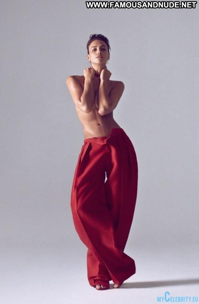 Irina Shayk Harpers Bazaar Posing Hot China Babe Russia Magazine