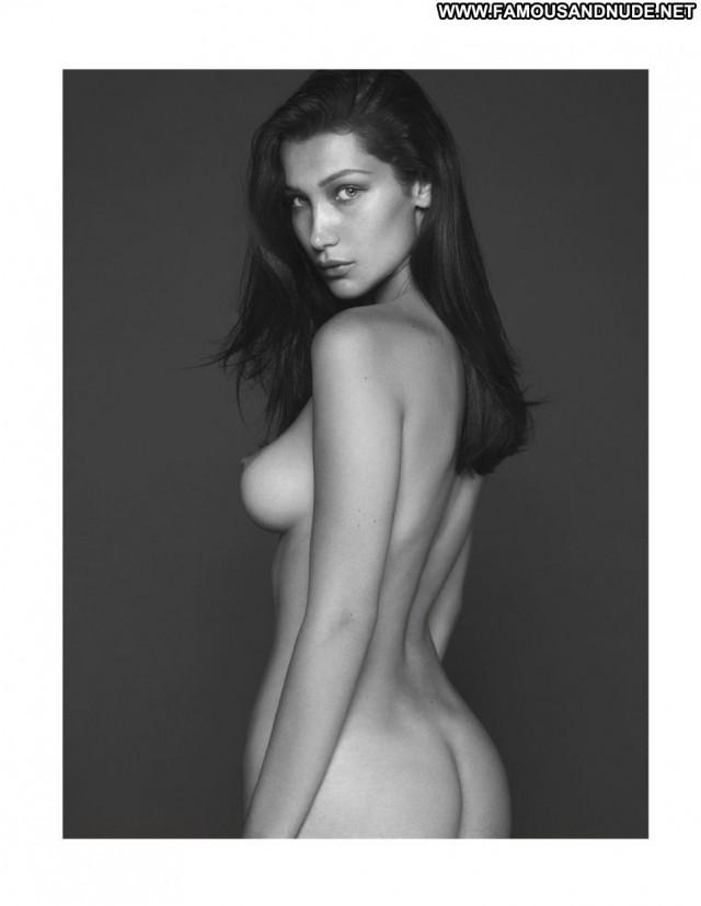 Bella Hadid Topless Photoshoot Posing Hot Photoshoot Usa Celebrity