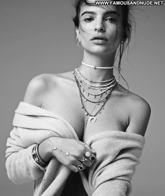 Emily Ratajkowski No Source Celebrity Posing Hot Babe Usa Beautiful