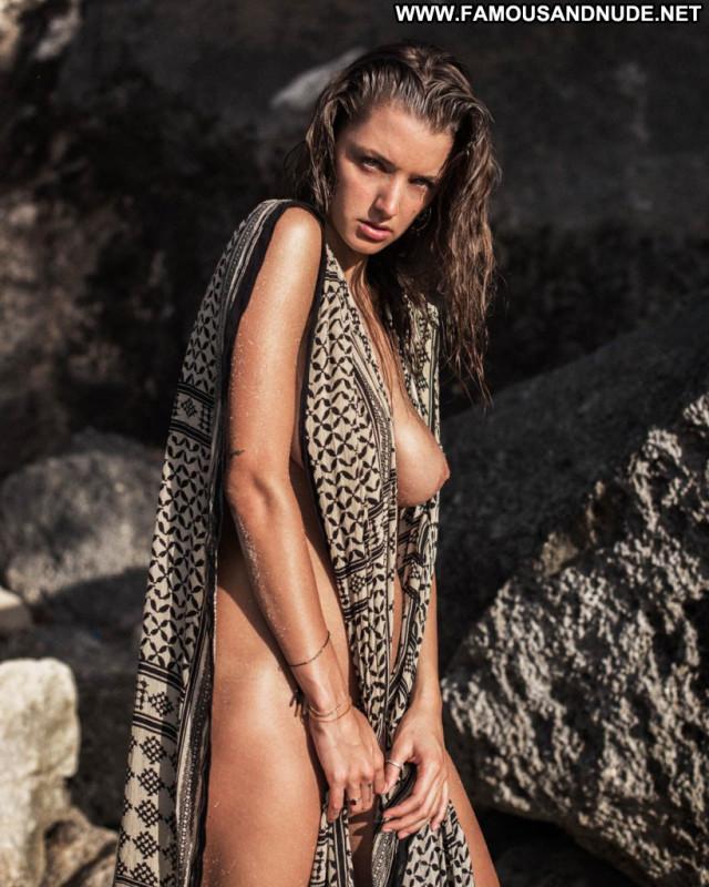 Alyssa Arce Topless Photoshoot Beach Topless Celebrity Usa Posing Hot