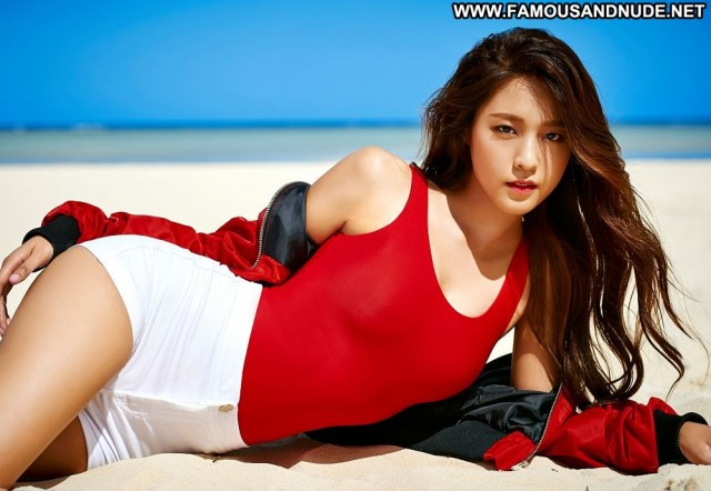 Kim Seol Hyun No Source Singer Korean Celebrity Orange Beautiful Babe