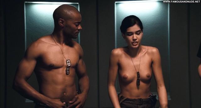 Cecile Breccia Starship Troopers 3 Movie Celebrity Hot