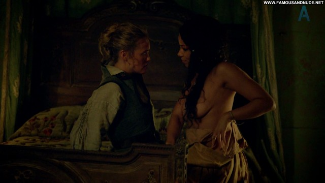 Jessica Parker Kennedy Black Sails Celebrity Tv Show Hot Sex Lesbian